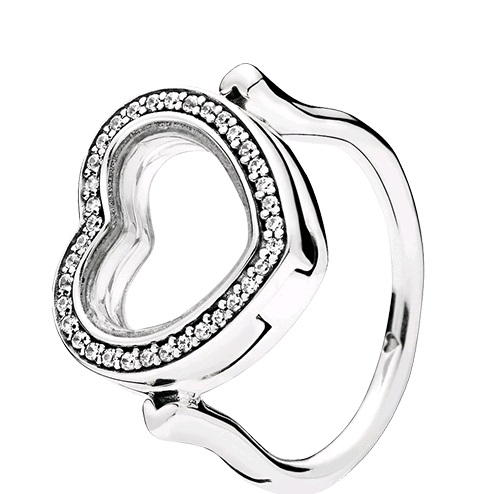 bf927775d AAA Grade S925 ALE Sterling Silver Floating Hear Locket Ring-Rings-AAA  Agrade-Collection-Bitu Jewelry - Global Online Wholesale for Silver Jewelry, Jewelry ...
