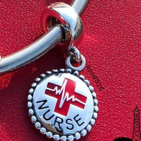 AAA GRADE S925 ALE Sterling Silver Nurse Charms